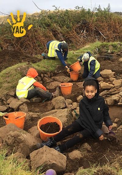 Excavating on the Isle of Mull!