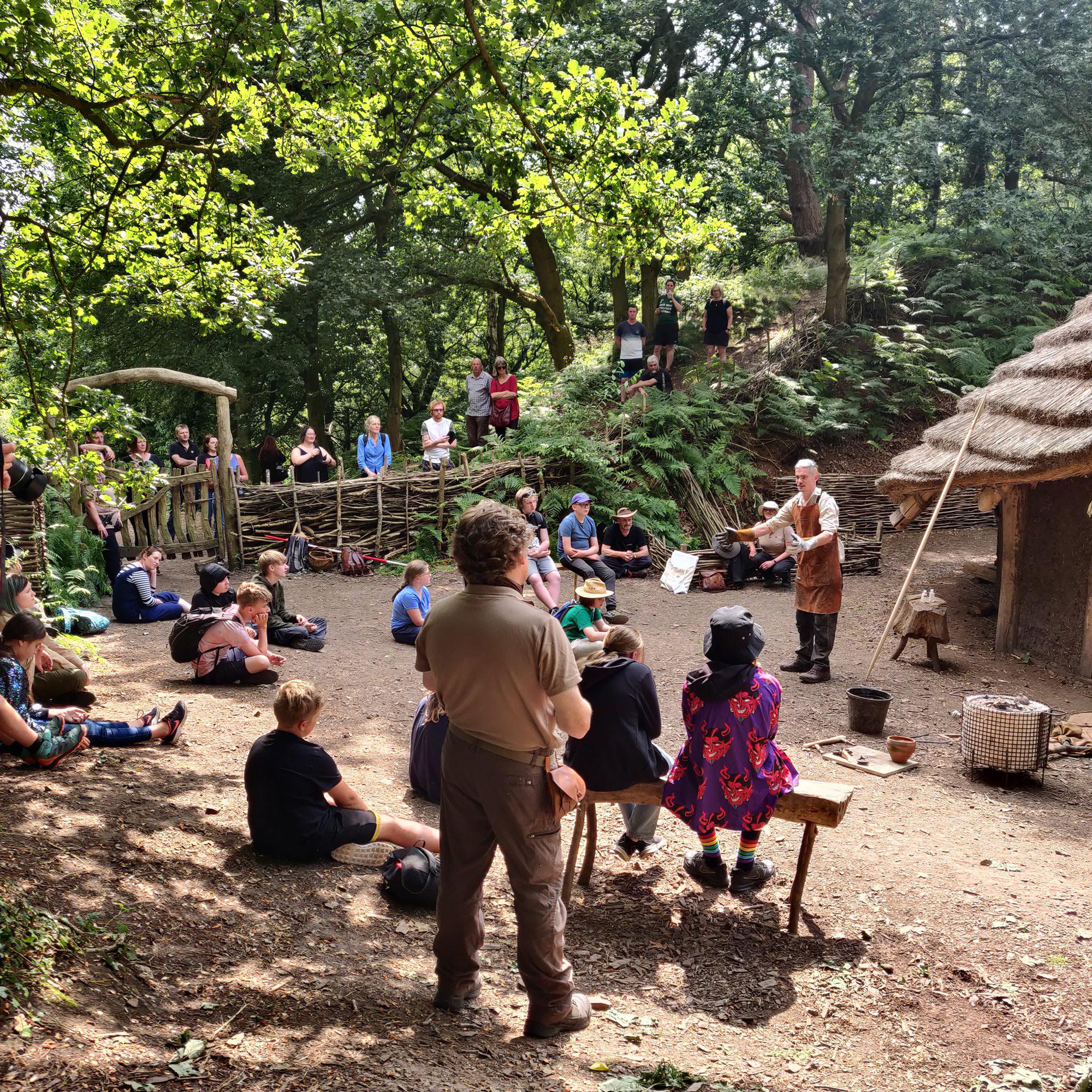 Youth engagement activity day at Beeston Castle, Cheshire
